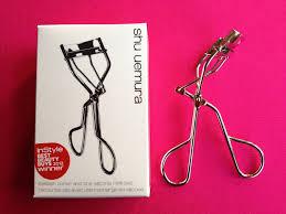 beauty crash test eyelash curlers shu uemura v boots