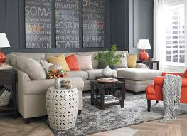 hgtv livingroom hgtv home cu 2 u shaped sectional by bassett furniture