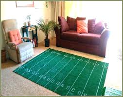 Football Field Area Rug Alluring Football Field Area Rug Carpets Football Rug