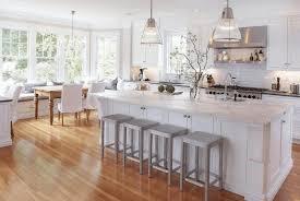 kitchen wooden floors white wooden floorplank sleek