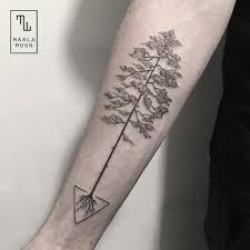 dotwork tree by marla moon