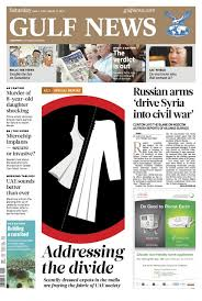 design inspiration news here is your new gulf news berliner format new look garcía media