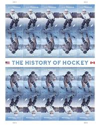 usps unveils hockey stamps canada