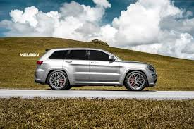 murdered jeep grand cherokee unmatched style jeep grand cherokee srt fitted with velgen custom