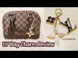 Monogram Charms Louis Vuitton Bag Charm Review Fleur De Monogram Bag Charm M67119