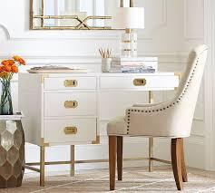 Land Of Nod Desk White Campaign Desk Rooms