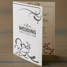 folding wedding invitations a5 folded wedding invitations