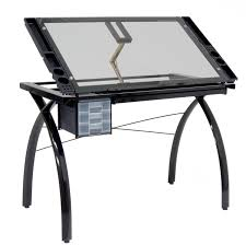 Drafting Table Uk Antique Glass Vs Wood Drafting Table For Wood Table