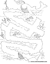 whale maze activity coloring page create a printout or activity