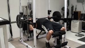 Weight Set Bench Press Pin Presses For Increasing Bench Press Strength And Power