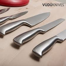 vudú knives knife holder u0026 knife set 5 pieces innova goods