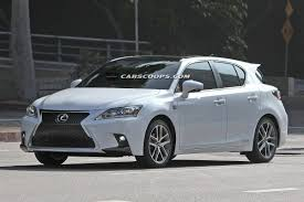lexus 2014 white scoop spindle grille 2014 lexus ct 200h f sport caught without camo