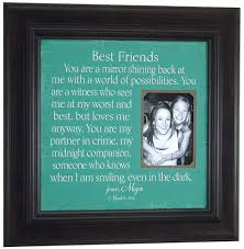 best friend wedding gift best friend friend of honor by photoframeoriginals