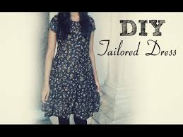 diy how to sew a dress without a pattern youtube