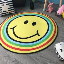 Round Yellow Rug Compare Prices On Emoji Rugs Online Shopping Buy Low Price Emoji