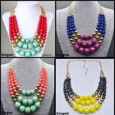 wood beads necklace designs images Wood bead tassel long pendant necklace fashion jewelry 2014 new jpg