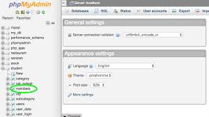 Change Table Name In Mysql How To Change Table Name In Phpmyadmin Localhost Or Cpanel