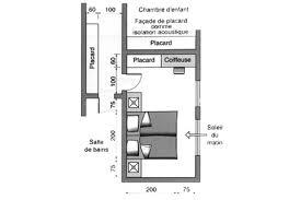 plan chambre a coucher plan chambre où mettre le lit dans la chambre couloir