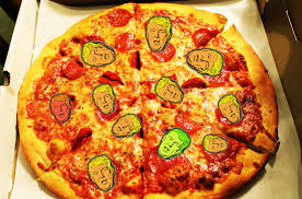 how much is a medium pizza at round table i went undercover to a trump caign debate party at round table