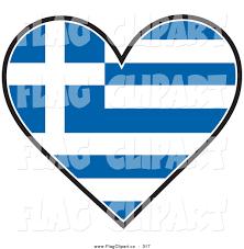 flag heart clip art 41