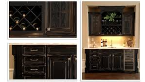 Wet Kitchen Cabinet Cabinets U0026 Drawer Furniture Black Wooden Wet Bar Cabinets For