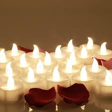 battery operated candle lights for christmas candles decoration