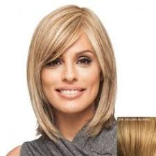 feathered front of hair studio cut by pros synthetic hair wig 18 feather razor cut