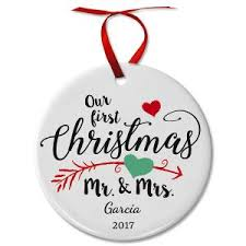 First Christmas Personalized Ornaments - unique personalized christmas ornaments current catalog