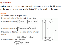 mensuration ncert extra questions for class 8 maths chapter 11