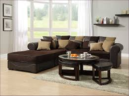 Small Sectional Sofa With Chaise Lounge Furniture Marvelous Chocolate Brown Corduroy Sectional Bentley