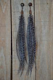 feather earings grizzly feather earrings the feather junkie