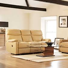 the bucardo 3 seater power recliner cream leather recliner sofa