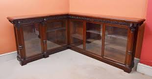 Walnut Corner Bookcase Antique William Iv Burr Walnut Corner Bookcase C 1830 Ref No 04206