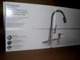 kohler rubicon pull down kitchen faucet soap dispenser r20147 sd