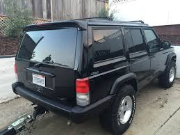 jeep cherokee lights jeep cherokee xj custom spoiler spoilerlight type i