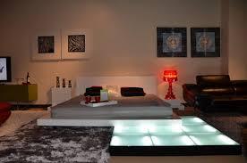 Pallet Platform Bed Pallet Platform Bed With Nightstands Platform Bed With