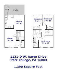 1131 d w aaron drive state college pa 16803 park forest
