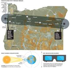 Salem Oregon Map by Solar Eclipse Path Through Oregon What Causes A Solar Eclipse