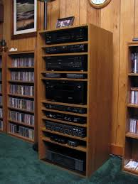 Homemade Stereo Cabinet Opinions On What To Use For Shelves In My Stereo Cabinet