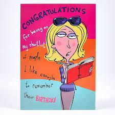 humorous birthday cards humour birthday card congratulations card factory