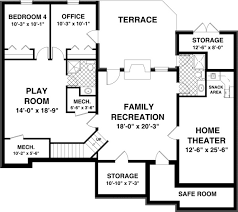 free house plans with basements walkout basement floor plans glamorous house plans with basements