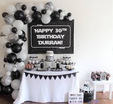 wars birthday party kara s party ideas monochromatic wars birthday party kara s