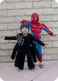 make a cute spider costume