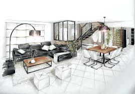 aménagement salon salle à manger cuisine amenagement salon 20m2 stunning amenager salon cuisine m free