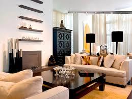 beautiful minimalist family room interior