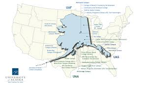 Alaska Us Map by About Ua University Of Alaska System