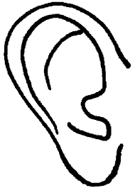 Ear Of An Elf Coloring Pages Kids Play Color Elf Ears Coloring Ear Coloring Page