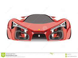 red ferrari vector of red ferrari f80 sport car stock illustration image