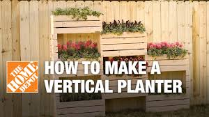 how to make a vertical planter youtube