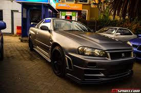 nissan skyline r34 paul walker paul walker remembered in kenya with special memorial drive gtspirit